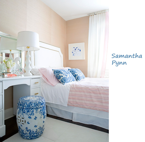 Beigewhitepinkbluebedroom Chalk Mell Beauteous Pink And Blue Bedroom